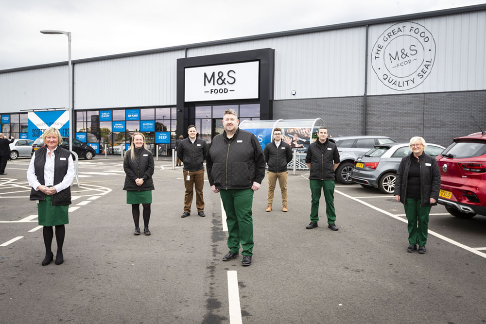 M&S Paisley team